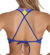 Reebok T Street Colorblock Natalie Sport Swim Top 871512