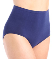 Rhonda Shear Ahh Cotton Blend Seamless Panty 4458