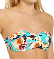 Seafolly Kabuki Bloom Twist Bandeau Swim Top KB30384
