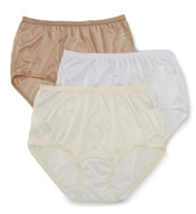 Shadowline Nylon Modern Brief - 3 Pack 17642pk