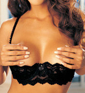 Shirley of Hollywood Chopper Lace Shelf Bra 324