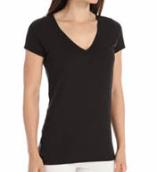 Skin Superfine Pima Jersey V-Neck Easy Tee SSFJ1032