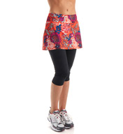 Skirt Sports Lotta Breeze Capri with Attached Skirt 1015