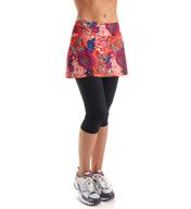 Skirt Sports Lotta Breeze Capri with Attached Skirt 1015