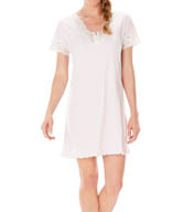 "Softies by Paddi Murphy Melanie 36"" Short Sleeve Gown 1489-3"