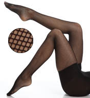 SPANX Control Top full Length Fishnet 002B