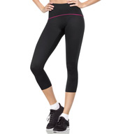 SPANX Shaping Compression Crop Pant with Color Band 2384