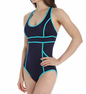 SPANX HourGlass Racerback One Piece Swimsuit 2624