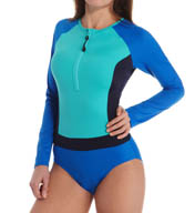 SPANX Long Sleeve One Piece Swimsuit 2665
