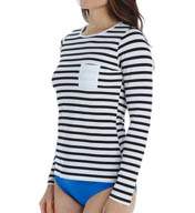 SPANX Rash Guard Sun Shirt 2667