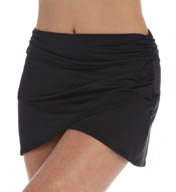 SPANX Side Wrap Skirted Swim Bottom 2689