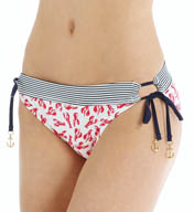 Sperry Top-Sider Lobster Catch Adjustable Leg Hipster Swim Bottom SW5HB95