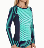 Sperry Top-Sider Anchor Pipeline Rash Guard SW5X455
