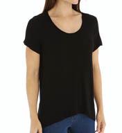 Splendid Drapey Lux Jersey Short Sleeve T-Shirt 526942