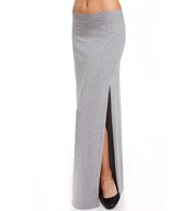 Splendid Cotton Modal Side Slit Maxi Skirt SS8222