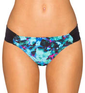 Sunsets Sea Glass Side Shirred Swim Bottom SEGL20B