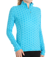 tasc Performance Sideline 1/4 Zip Printed Pullover TW300P