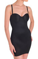 TC Fine Intimates Firm Control Strapless 14 Inch Full Slip 4555