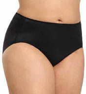 TC Fine Intimates Microfiber Wonderful Edge Brief Plus Size Panties A4-005