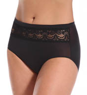 TC Fine Intimates Lace Trim Brief Panty A4-075