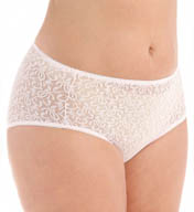 Teri Basic Lace Hi-Cut Brief Panties - 3 Pack 309