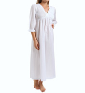 Thea Ibis 3/4 Sleeve Long Gown 7053