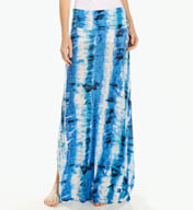 Three Dots St. Tropez Tie Dye Baseball Maxi Skirt GP3053