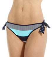 Tommy Bahama Bold Stripe Reversible Tie Side Swim Bottom TSW25705B