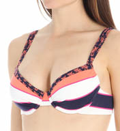 Tommy Bahama Rugby Palm Underwire Full Coverage Swim Top TSW26700T