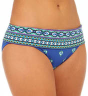 Tommy Bahama Foulard Frenzy Wide Band Hipster Swim Bottom TSW33207B