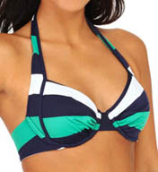 Tommy Bahama Mare Rugby Stripe Underwire Swim Top TSW35500T