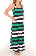 Tommy Bahama Mare Rugby Stripe Racerback Maxi Dress TSW35530C