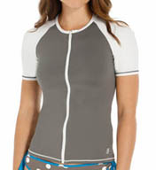 Tommy Bahama Deck Piping Rash Guard TSW64722C