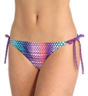 Tommy Bahama Ombre Scallop String Bikini Swim Bottom TSW81607B