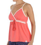 Tommy Hilfiger Hills & Valleys Empire Cami Sleep Top R23S054