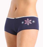 Tommy Hilfiger Classic Cotton Logo Boyshort Panty RH17T011