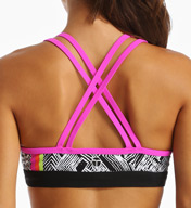Trina Turk Harbour Island Sports Bra with Removable Cups TR5VJ88