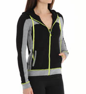 Trina Turk Track Set Hooded Jacket TT4DV35