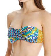 Trina Turk Amazonia Twist Bandeau Swim Top TT5FH81