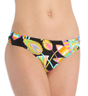 Trina Turk Tahitian Floral Shirred Side Hipster Swim Bottom TT5W290
