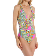 Trina Turk Tuvalu One Piece Swimsuit TT5W310