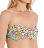 Trina Turk Tuvalu Twist Bandeau Swim Top TT5W381