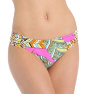 Trina Turk Tuvalu Shirred Side Hipster Swim Bottom TT5W390