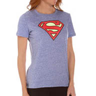 Under Armour Heatgear Supergirl Tri-Blend Shortsleeve Crew 1251222