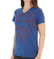 Under Armour Alter Ego Supergirl V-Neck Tee 1257782