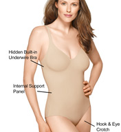 Wacoal Slenderness Hidden Wire Seamless Body Briefer 801165