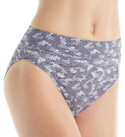 Warner's All Day Fit No Pinching Hi-Cut Brief Panty 5138