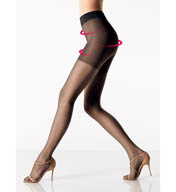 Wolford Luxe 9 Control Top Tights 17056