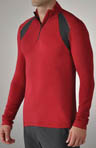 tasc Performance Hybrid Fitted 1/4 Zip TM104