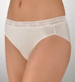 TC Fine Intimates Wonderful Edge Lace Trim Hi-Cut Panties A464
